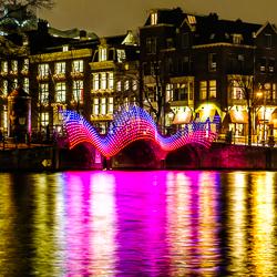 Amsterdam Light Festival photo tour