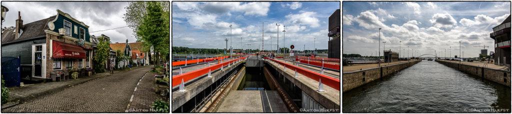 Oranjesluizen en Nieuwendammerdijk