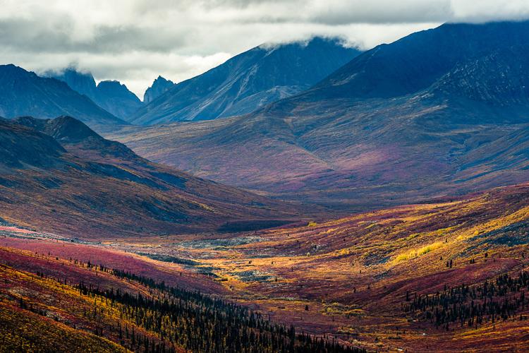 Fotoreis Yukon Canada