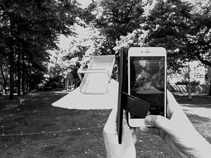 Zwart-wit fotografie met een smartphone
