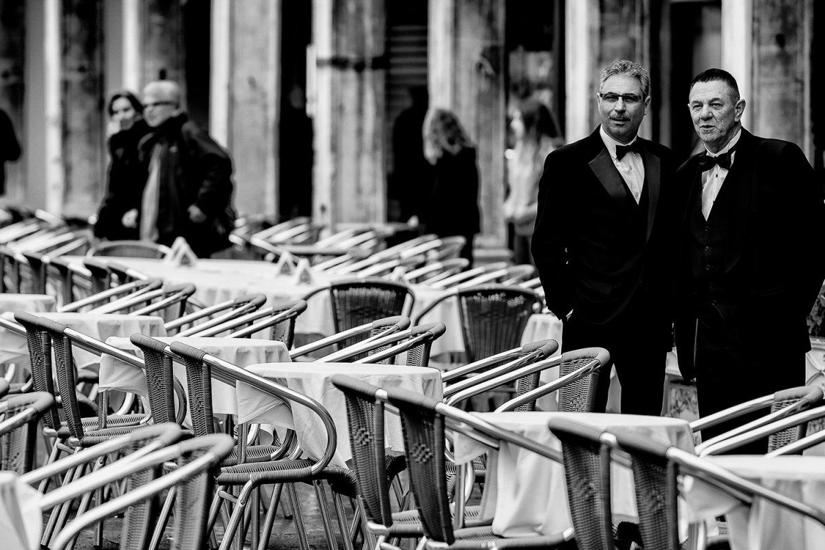 Venetië wachten op klanten