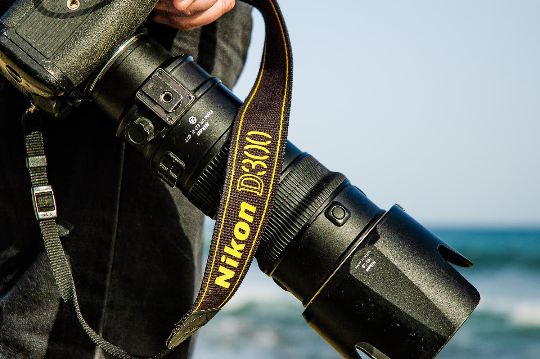 Nikon D300 met 70-200mm f/2.8