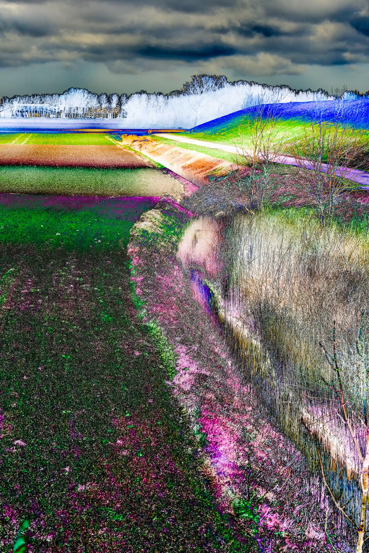 Abstracte landschapsfotografie