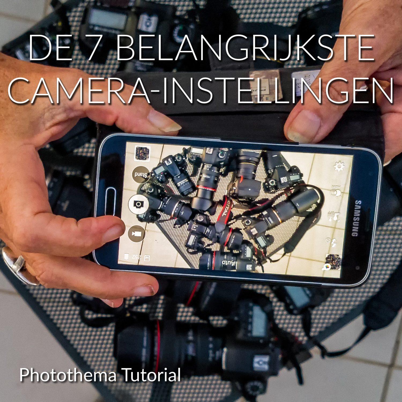 E-book bij workshop camera-instellingen