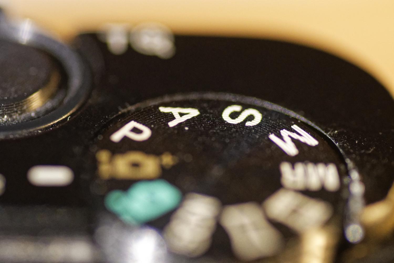 Camera-instellingen PASM
